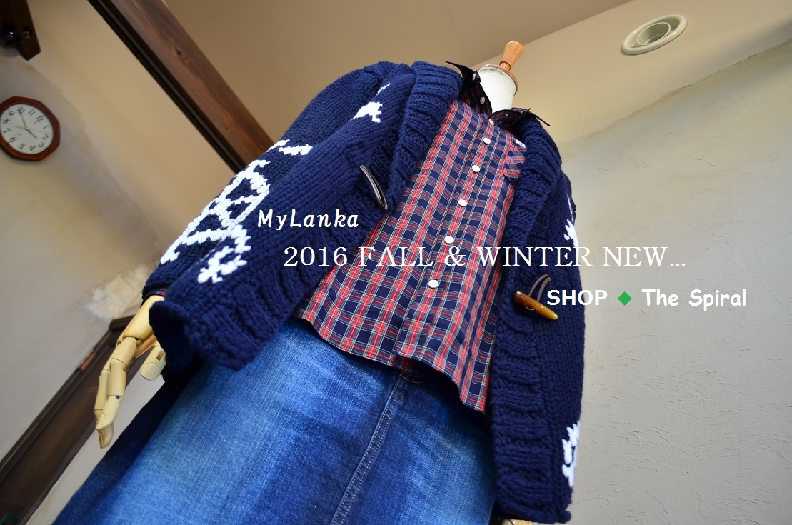 """New Arrival!!・・・2016 Fall & Winter...10/24mon\""_d0153941_15225338.jpg"