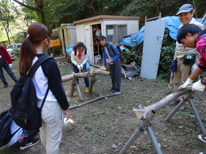 岬高校「山海人プロジェクト2016 」  in 孝子の森  by  (TATE-misaki) _c0108460_19284828.jpg
