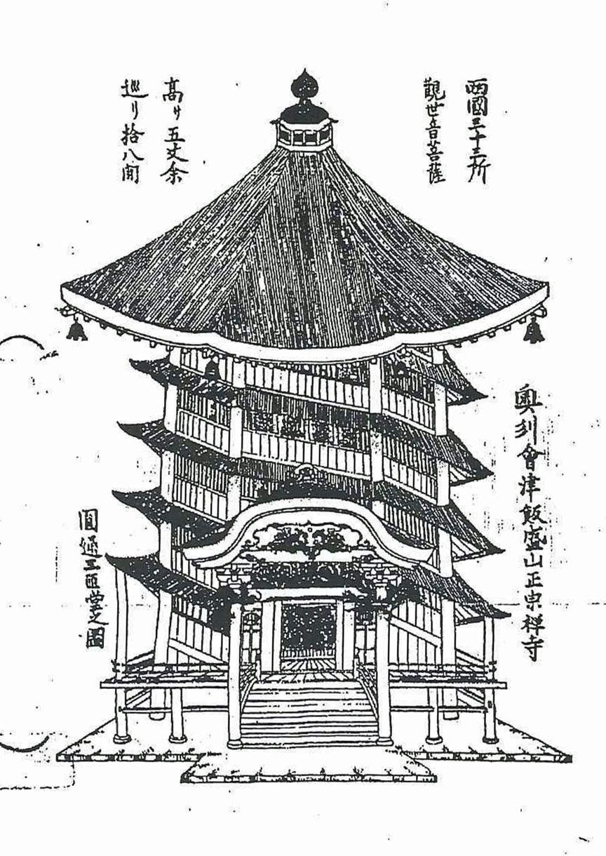 会津の建築:さざえ堂_c0195909_10585385.jpg