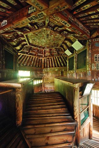 会津の建築:さざえ堂_c0195909_1059018.jpg