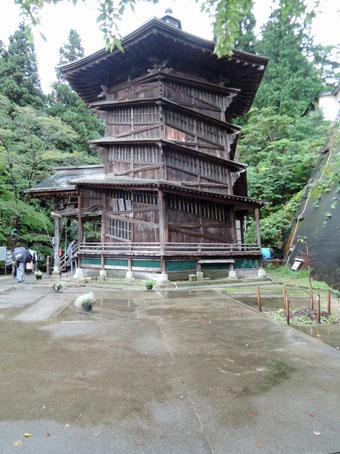 会津の建築:さざえ堂_c0195909_10593634.jpg