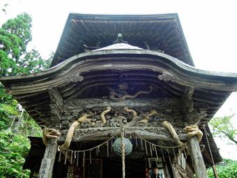会津の建築:さざえ堂_c0195909_10595379.jpg