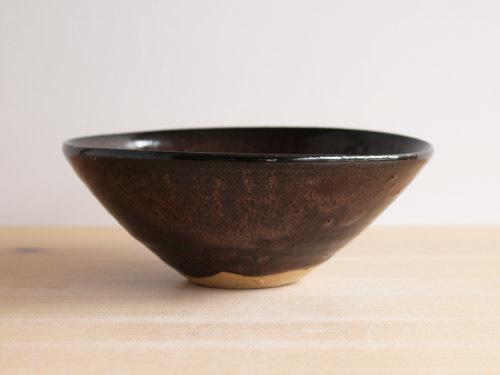 福永芳治さんの柿釉の鉢。_a0026127_16094659.jpg