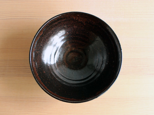 福永芳治さんの柿釉の鉢。_a0026127_16100096.jpg