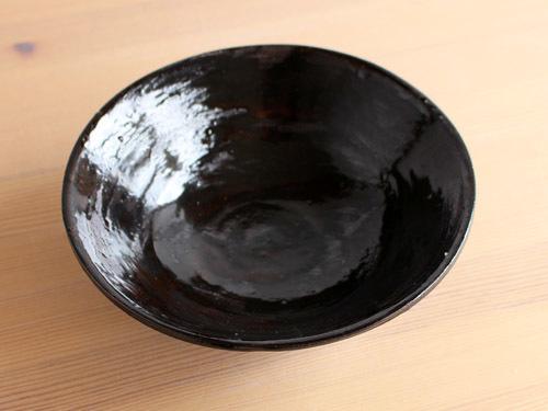 福永芳治さんの柿釉の鉢。_a0026127_16101548.jpg