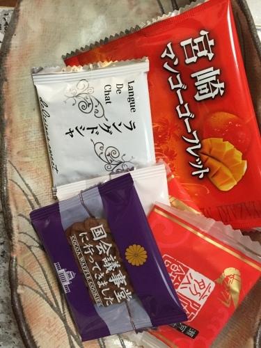 大島紬&山積みのお土産_a0125981_19155132.jpg