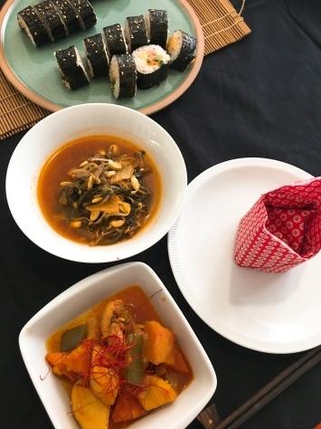 韓国料理レッスン in bangkok_f0141419_11515977.jpg