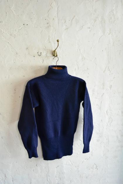 Italian navy turtle neck knit  dolce vita_f0226051_15555461.jpg