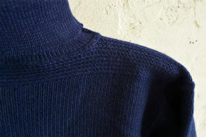 Italian navy turtle neck knit  dolce vita_f0226051_15571316.jpg