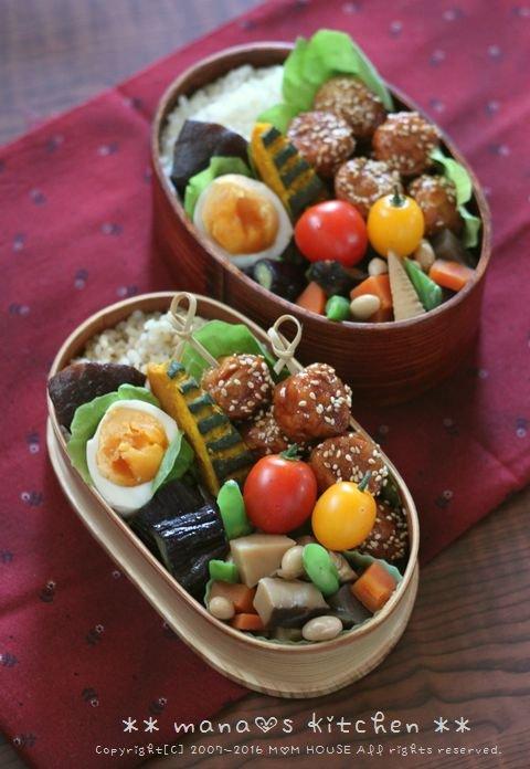 肉だんご弁 ✿ 野菜そば♪_c0139375_12191336.jpg