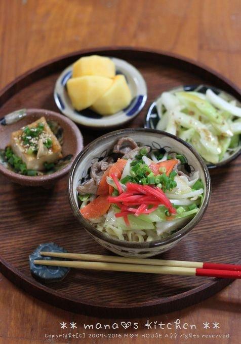 肉だんご弁 ✿ 野菜そば♪_c0139375_1220146.jpg