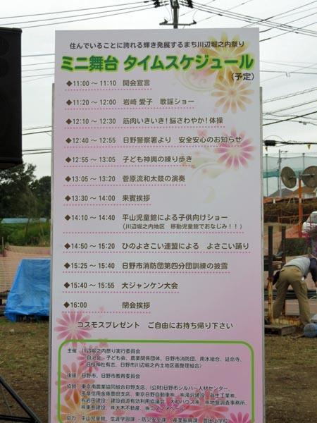 22日の川辺堀之内祭りと旧古河庭園・平塚亭と北とぴあと、日本のサーモン_e0133780_00045409.jpg