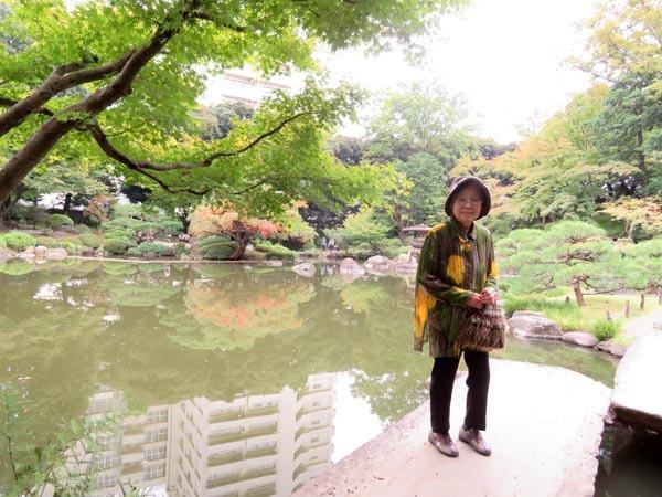 22日の川辺堀之内祭りと旧古河庭園・平塚亭と北とぴあと、日本のサーモン_e0133780_01153590.jpg