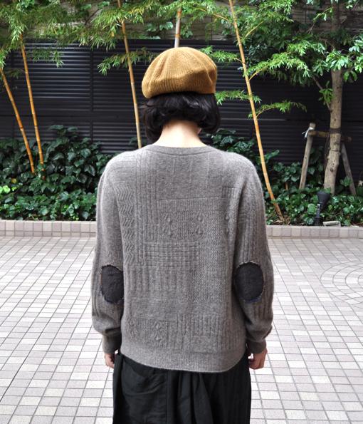 ヤク 柄編みエルボーパッチセーター / FACTORY_d0193211_2020679.jpg