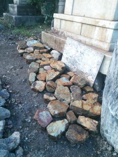 自然石の選別_f0183722_16274272.jpg