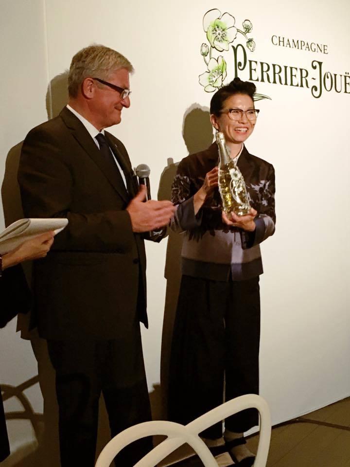 ペリエ ジュエ ベル エポック ブラン・ド・ブラン リミテッド エディション2004発売記念ディナーへ_a0138976_10512810.jpg