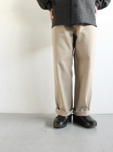 THE HINOKI Organic Cotton Denim Pants_b0139281_17272777.jpg