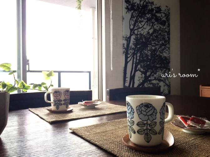 可愛い可愛いマリメッコのマグカップ!…そしてその収納。それから人気ヘアワックスの使い心地。_a0341288_01332290.jpg