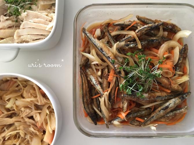 これは便利!ニトリのキッチンアイテム!…を使って作った常備菜。_a0341288_21465536.jpg