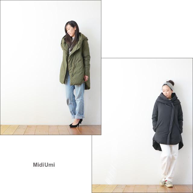 MidiUmi [ミディウミ] dawn hooded coat [3-770797] LADY\'S_f0051306_19532769.jpg