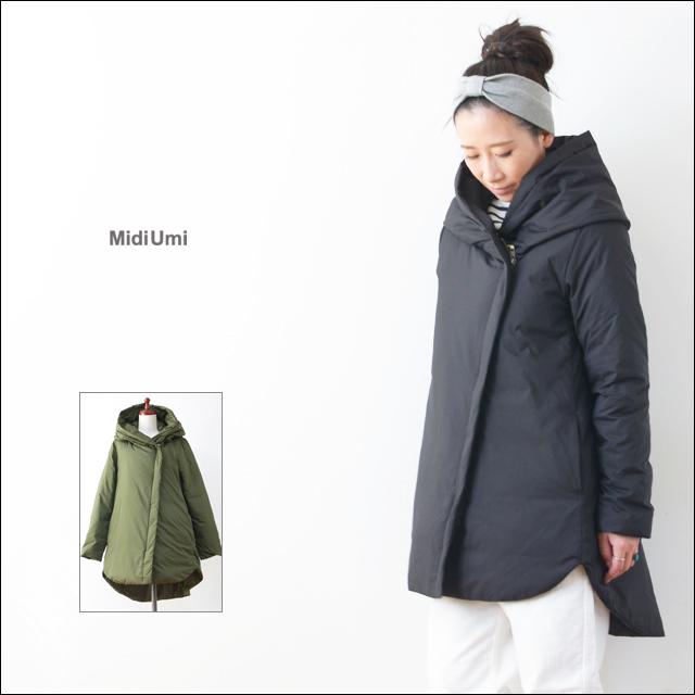 MidiUmi [ミディウミ] dawn hooded coat [3-770797] LADY\'S_f0051306_19532846.jpg