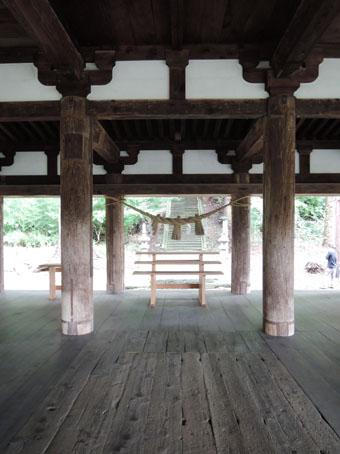 会津の建築:熊野神社長床_c0195909_11154916.jpg