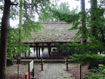 会津の建築:熊野神社長床_c0195909_11155882.jpg