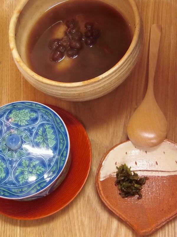 特注の銅鍋で作る「ぜんざい」作り_a0125419_18443392.jpg