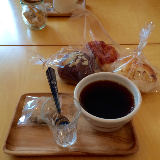 本日のoneday cafe。_a0164280_19385930.jpg