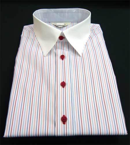 レディースシャツ レッドボタン_a0110103_20524529.jpg
