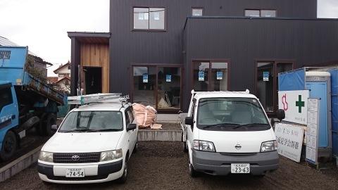 波田の住宅 ~まもなく完成です_e0180332_17324534.jpg