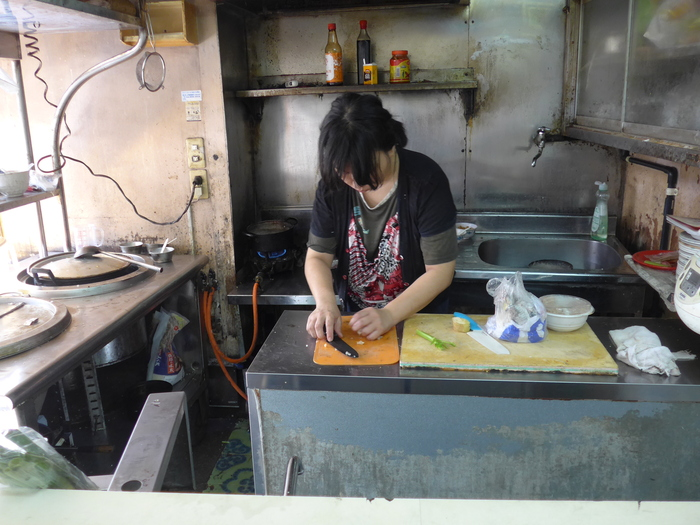 那覇「台湾粥専門店 阿里」へ行く。_f0232060_15573140.jpg
