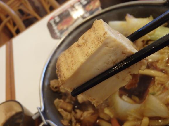 すき家の牛すき鍋定食   南塚口7丁目店 _c0118393_12175570.jpg