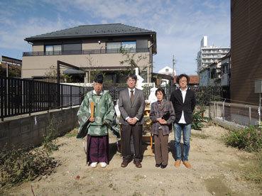 「畑田の家」地鎮祭_b0179213_16213218.jpg