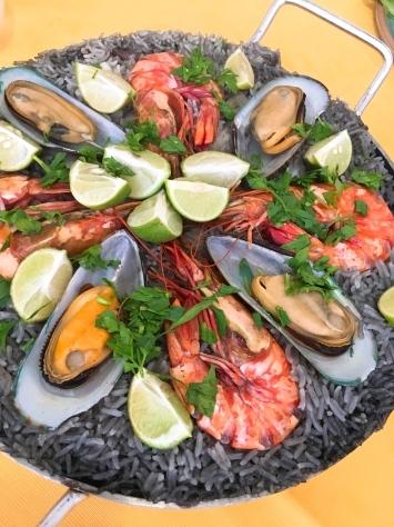 スペイン料理レッスン「イカ墨のパエリアなど」in bangkok_f0141419_13272384.jpg