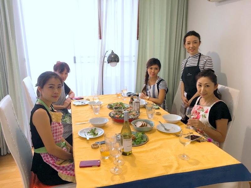 スペイン料理レッスン「イカ墨のパエリアなど」in bangkok_f0141419_13275045.jpg