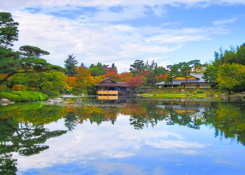 2016.10.29色づき始めた日本庭園の紅葉(昭和記念公園)_e0321032_1414247.jpg