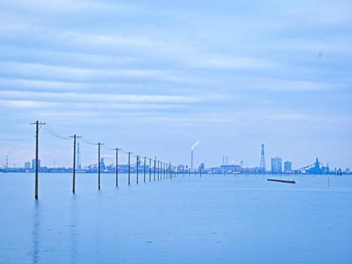 2016.10.29江川海岸から見た光景(木更津)_e0321032_1512479.jpg