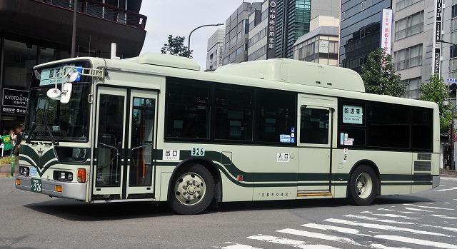 京都市バス~エアロスターCNGノンステップバス  926_a0164734_15395628.jpg