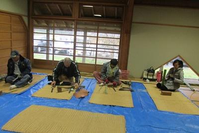 竹かご教室(入門)4日目(最終日)_a0123836_1037271.jpg
