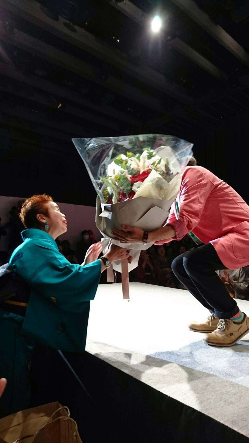 青野先生、東京で初めてのショー開催!_f0140343_10171747.jpg