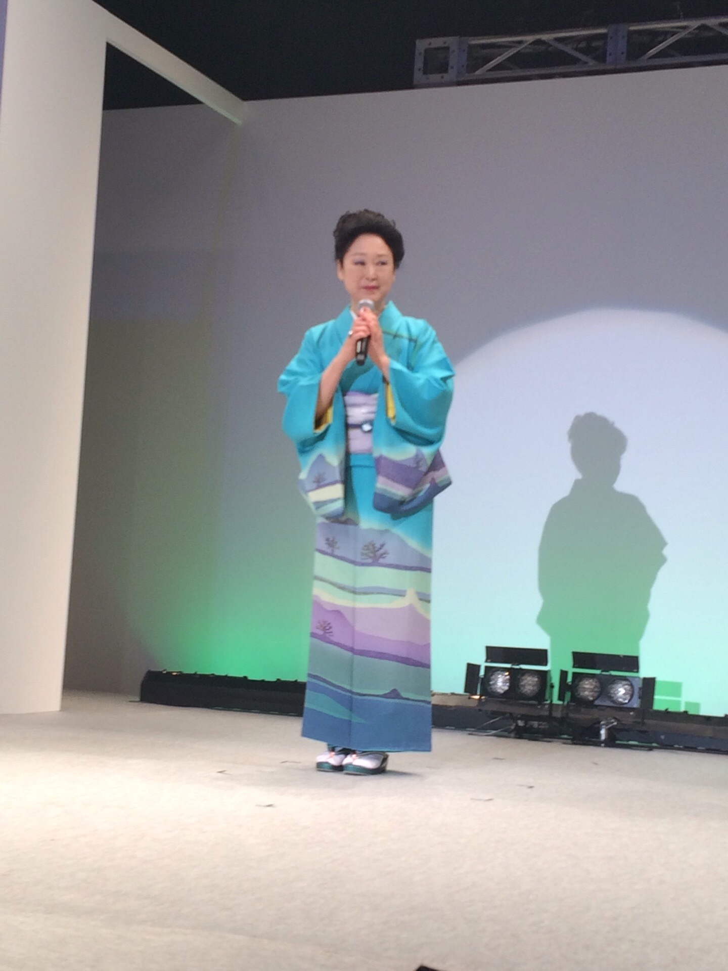 青野先生、東京で初めてのショー開催!_f0140343_10244836.jpg