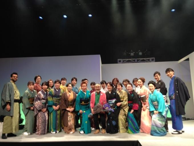 青野先生、東京で初めてのショー開催!_f0140343_11001070.jpg