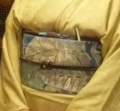 中華でご一緒した青森のお客様の着物姿・サローネへ。_f0181251_10252023.jpg