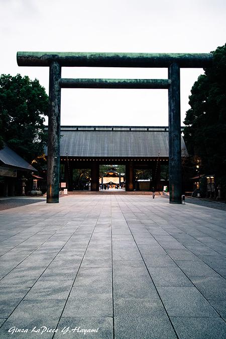 東京の写真 靖国神社の風景_b0133053_00154673.jpg
