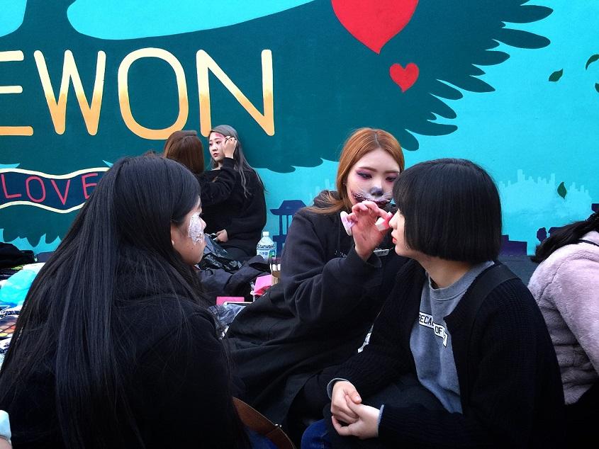 ソウルでハロウィン♪_b0060363_20302397.jpg