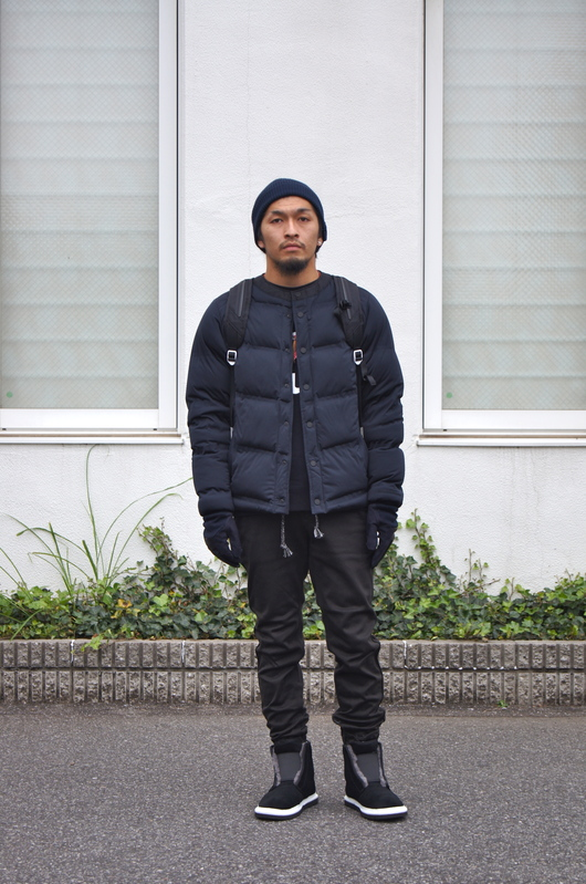White Mountaineering - Navy & Black Winter Style._f0020773_18344753.jpg
