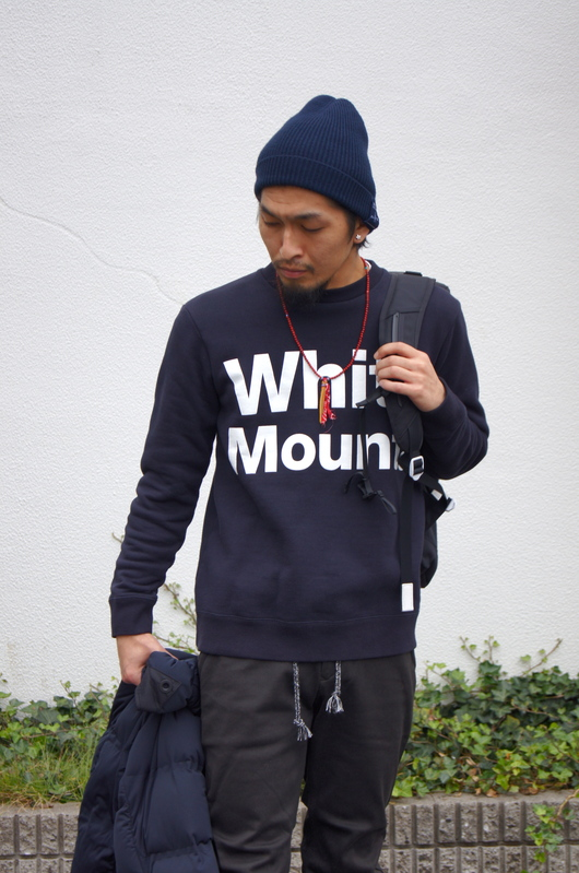 White Mountaineering - Navy & Black Winter Style._f0020773_18374796.jpg