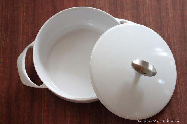 世界一軽い鋳物ホーロー鍋 ✿ チキンのチリトマト煮込み♪_c0139375_16402984.jpg