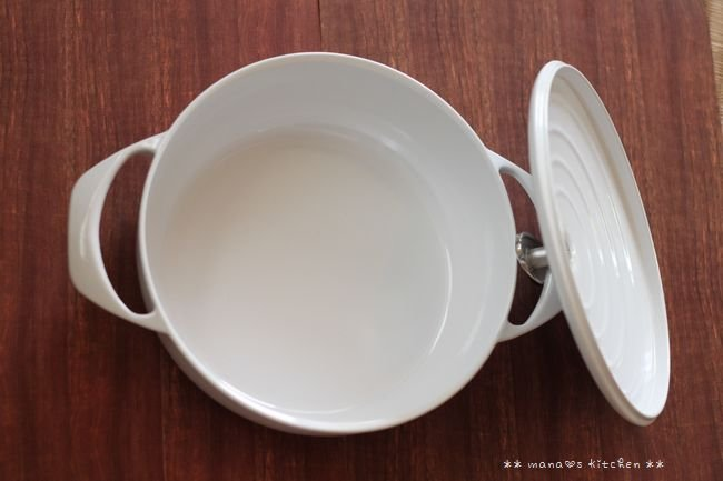 世界一軽い鋳物ホーロー鍋 ✿ チキンのチリトマト煮込み♪_c0139375_16403971.jpg